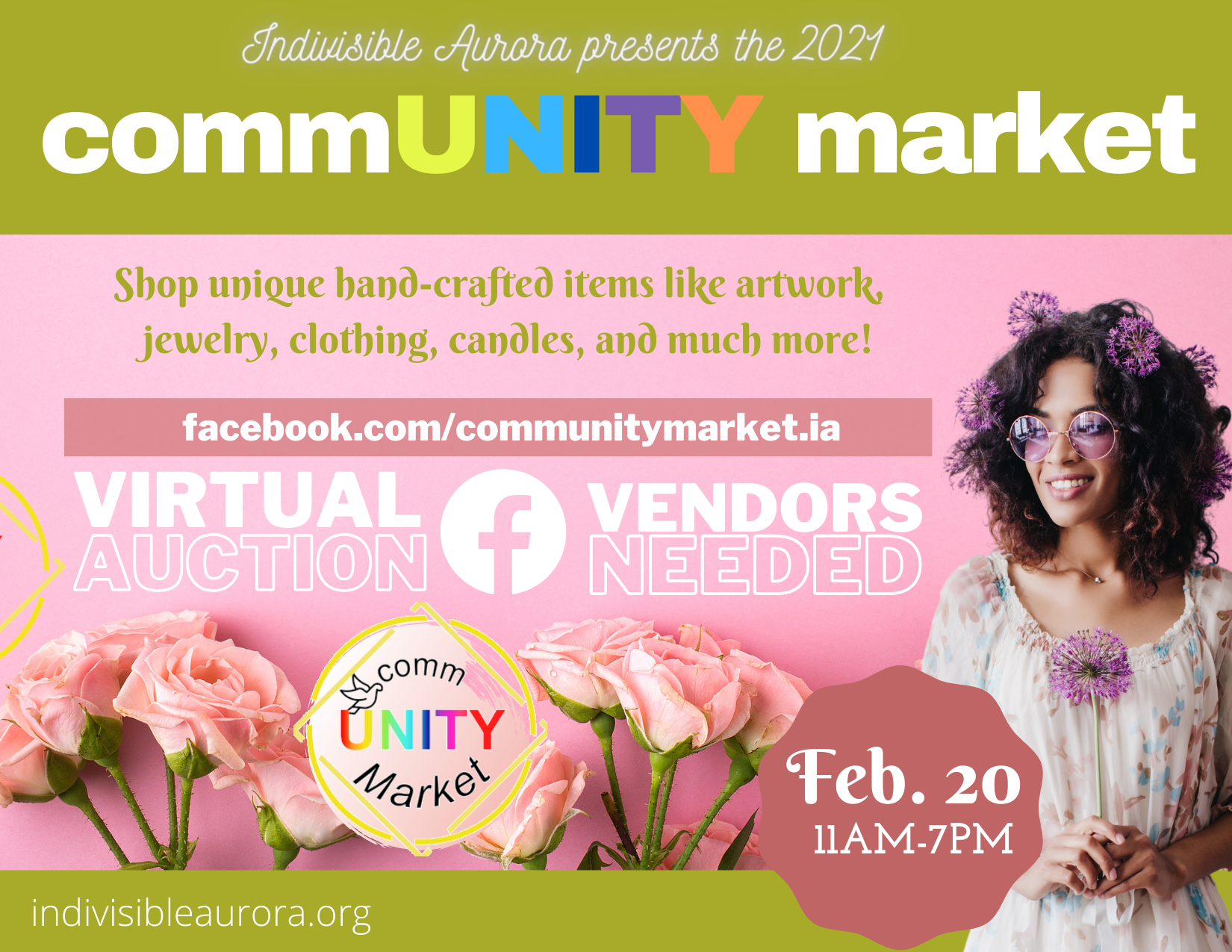CommUNITY Market 2021 – Event Flyer